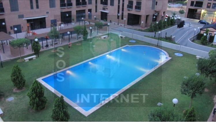 Alquiler de piso en urbanizacion
